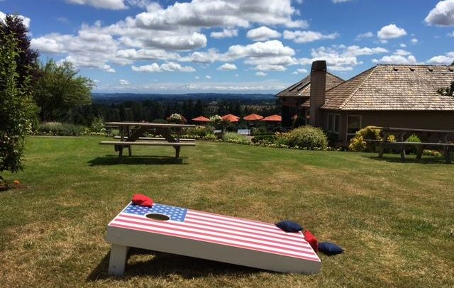 Wineries with Cornhole Oregon