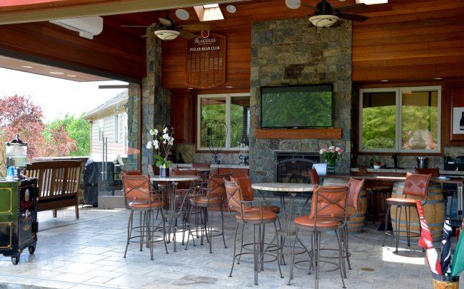 Blakeslee Vineyard Estate Wine Club Room