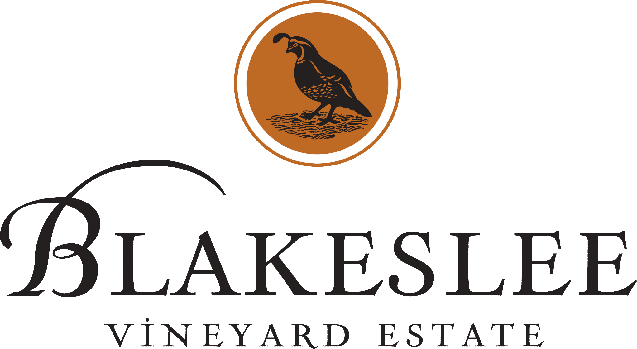 Blakeslee Vineyard Estate Logo